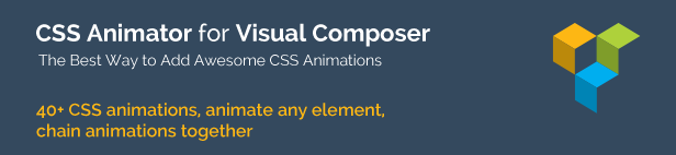 CSS Animator add-on for Visual Composer