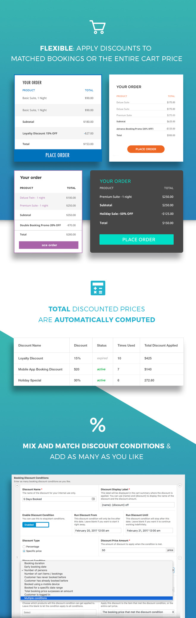 WooCommerce Conditional Booking Discounts 2